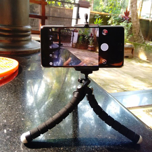 Image 3 - Rovtop תמנון מיני חצובה סוגר נייד גמיש Smartphone קליפ מחזיק מצלמה סטנט Smartphone חצובות מתקפל שולחן עבודה