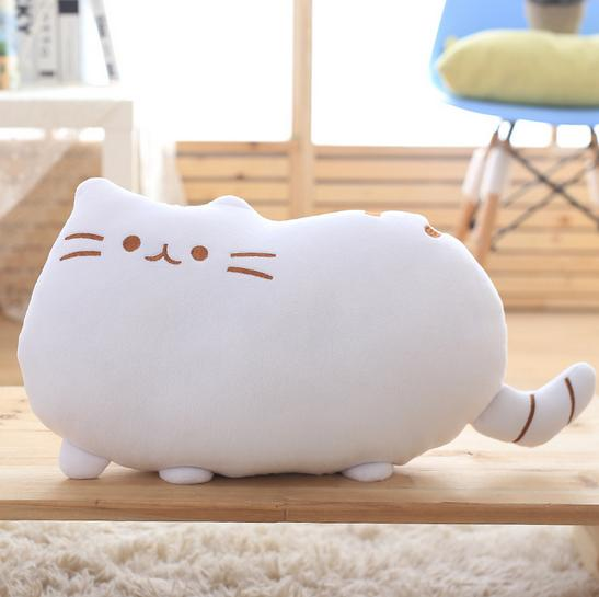 Free shipping Creative Home Pillow cute Stuffed Soft Plush Toys car Cushion cat Character Kids Baby Toy Gift