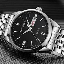 2017 Moda Reloj de Cuarzo de Los Hombres Top Famosa Marca De Lujo de Acero Inoxidable Reloj de Hombre Reloj de Pulsera para Hombres Relogio masculino Hodinky