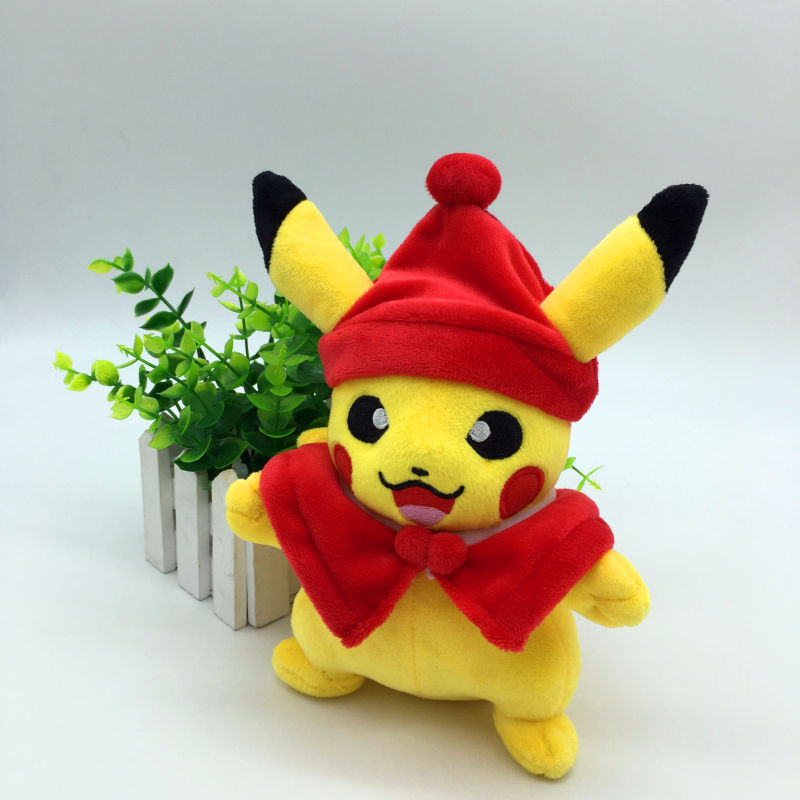 Toys For Halloween : Kawaii soft baby toys red halloween cosplay pikachu plush