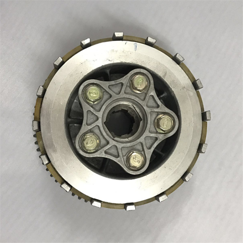 Pochette en acier moto CG125 CG150 | 6 colonne 5, ensemble de pochette en acier,