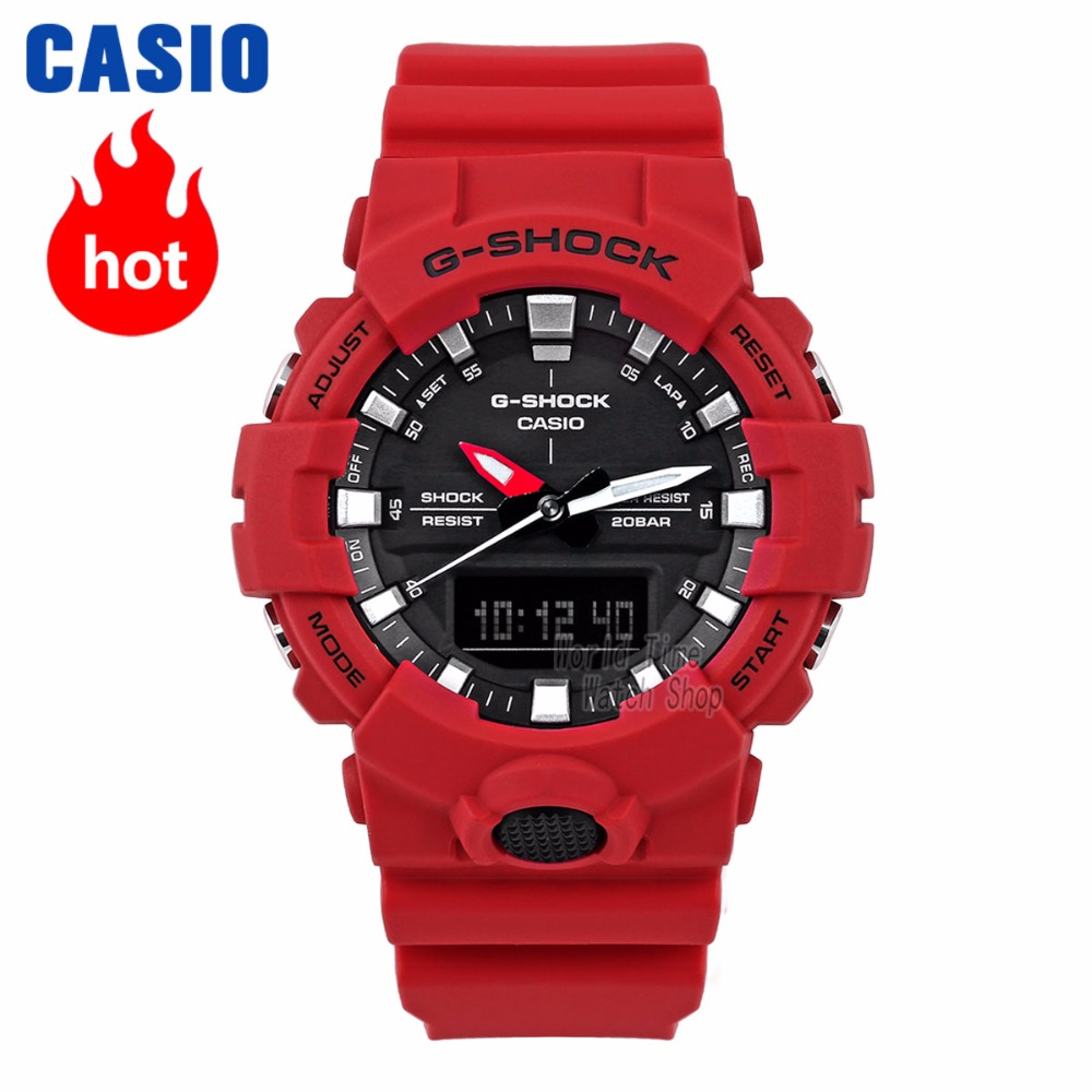 Casio Watch Men G-SHOCK Top Luxury Waterproof Diving Sport Quartz Watch Double LED Relogio Digital G Shock Military Men Watch