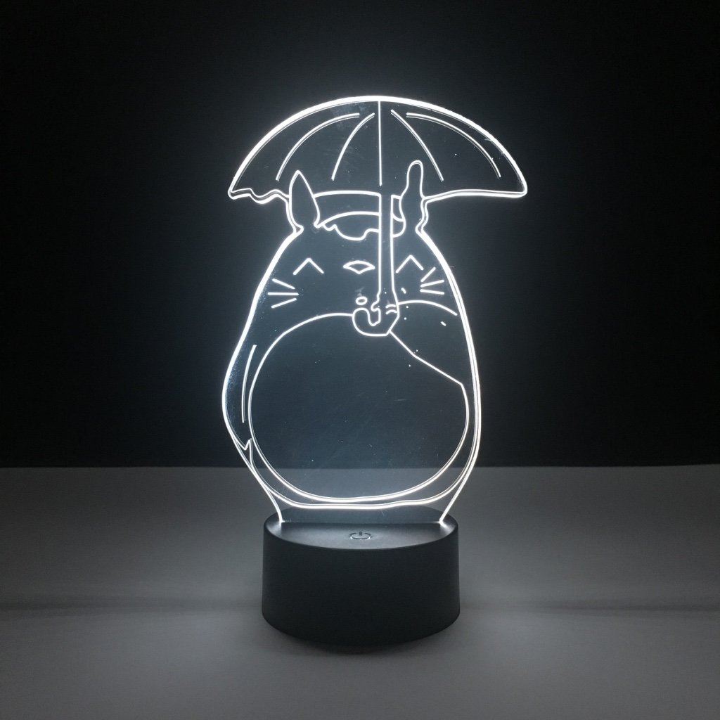Pretty Kids Led Nightlight My Neighbor Totoro Night Light For Baby Crib Bedroom Light Child Gift Led Night Lamp Totoro Umbrella