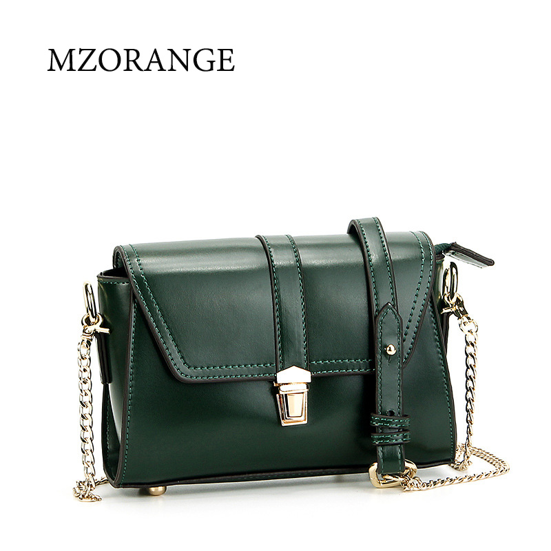 Fashion Genuine Leather Shoulder Bag women handbag 2017 vintage Oil wax cowhide Mini Flap bag Crossbody Bag Gold Chain Bags new 2017 fashion brand genuine leather women handbag europe and america oil wax leather shoulder bag casual women