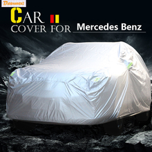 Buildreamen2 ВНЕДОРОЖНИК Покрытие Автомобиля Солнце Снег Дождь Устойчивый К Царапинам Покрытие Для Mercedes Benz GLE Класса GLE300 GLE320 GLE350 GLE400 GLE450