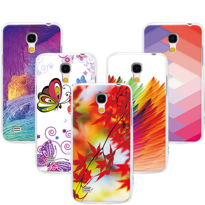 Bright Colorful Exotic Printed Phone Case For Coque Samsung S4 Mini Cases Cover For Samsung Galaxy S4 Mini i9190 Fundas 4.3 inch