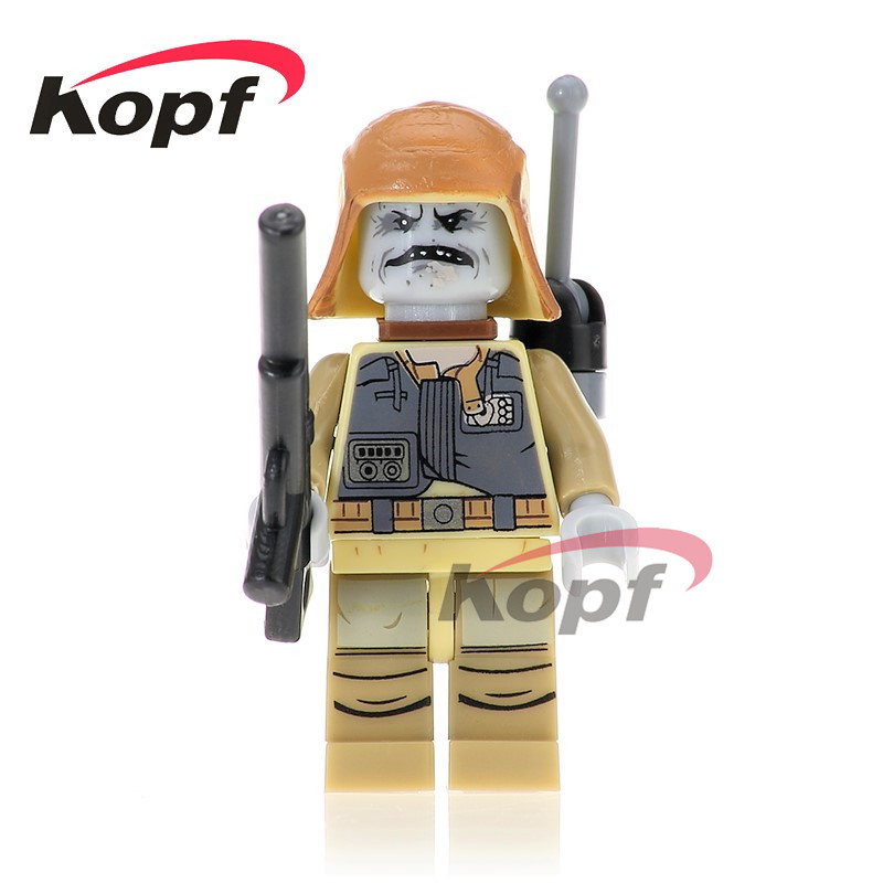 Single Sale PG734 Star Wars Pao 75156 Imperial Shuttle Roque One Squad Bodhi Rook Bricks Building Blocks Children Gift Toys 1pc imperial death trooper rogue one 75156 diy figures star wars superheroes assemble building blocks kids diy toys xmas