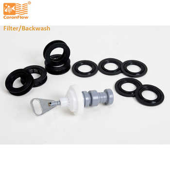 Coronwater Water Filter Valve Piston Assembly Kits Replace to Fleck BinRun F11 Filter Control Valve Body