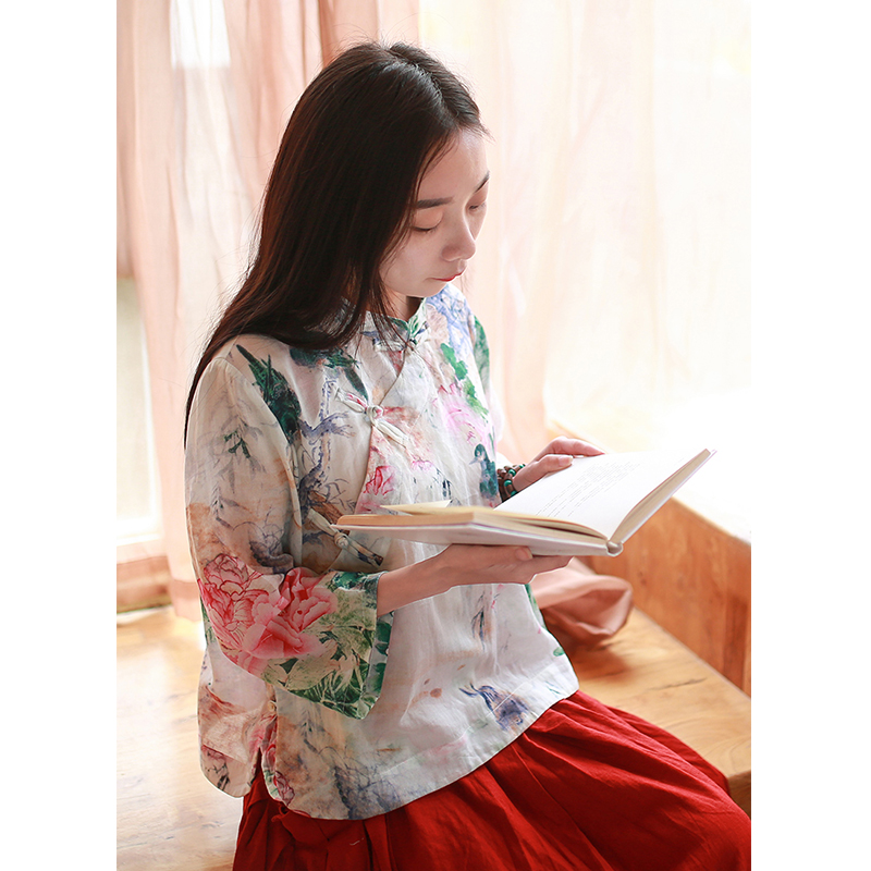 Blouse Cheongsam Traditional Last