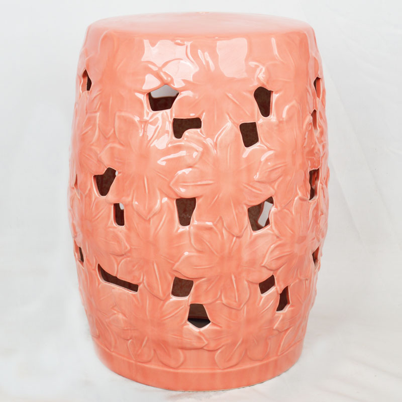 Nice Jingdezhen Indoor Ceramic Antique Home Drum Porcelain Garden Stool Glazed  Hand Painted Round Ceramic Chinese Garden
