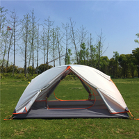 Outdoor Backpacking 2 Person Tent for Ultralight 3 Season Camping and Expeditions Hubba Hubba 2P tent come with footprint