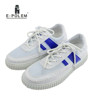 2017 New Men White Casual Lace Up Canvas Flat Shoes Summer Fashion Low Help Round Toe