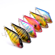 1PC New VIB lures 13.1g-0.47oz/6cm-2.4″ Fishing lure 6 color Bass Bait Fishing tackle DW-1090