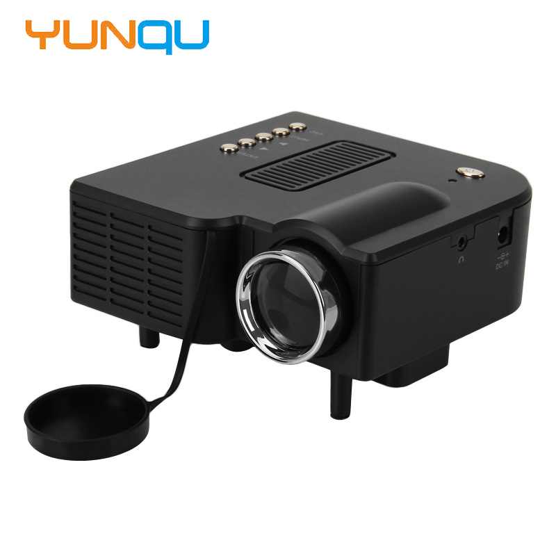 ФОТО 2016 New UNIC UC28+ mini Projector with Mini Micro LED Digital Video Multimedia Home theater Portable Support HDMI VGA AV USB SD