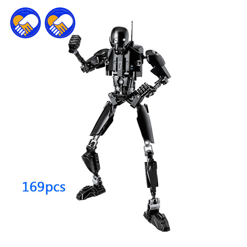 (A Toy A Dream)K-2SO StarWars Single Sale Rogue One: A StarWars Story Models & Building Blocks Toys For Children 617