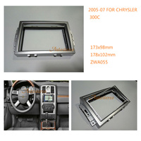 2 DIN Car Radio Fascia installation facia trim dash kit for CHRYSLER 300C,DODGE Charger,JEEP Grand Cherokee 11 055