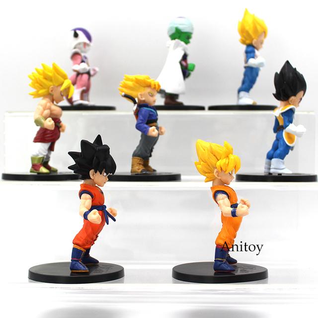 Dragon Ball Z Son Goku Trunks Vegeta Piccolo Super Saiyan Action Figure
