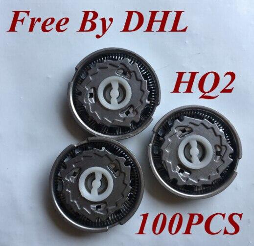 100 шт., HQ2 острая сменная головка для бритья бритвы для philips Norelco electric shaver HQ20 HQ22 HQ220 HQ26 HQ262 HQ282 HQ2