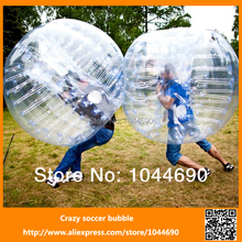 1.00mm TPU Dia 1.5m marvelous outdoor inflatable bumper game ball