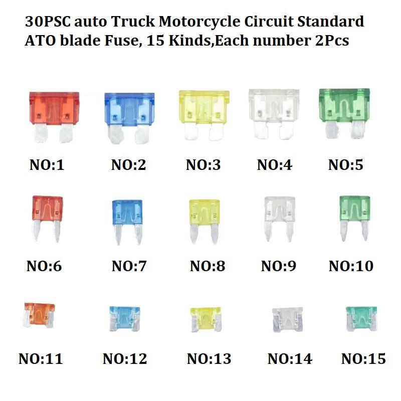 Смешанный авто бампер колеса брови крыло пластиковый крепеж винт заклепки для всех автомобилей Клип Набор - Название цвета: A7-30PSC