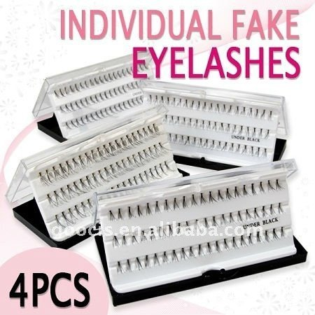 FALSE EYELASHES BLACK 8MM/10MM/12mm/14MM