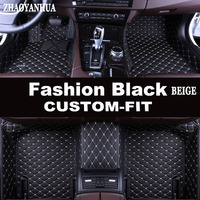 ZHAOYANHUA Custom made car floor mats for BMW X6 E71 E72 F16 all weather case waterproof high quality rugs carpet liners