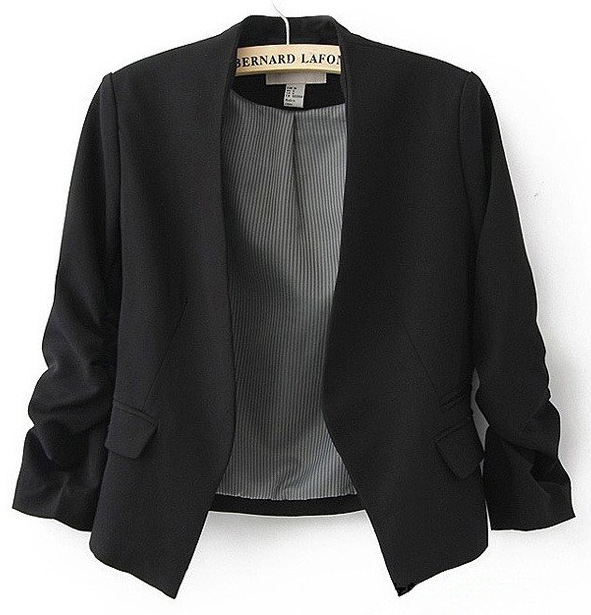 2018 New Fashion Women Blazer and jackets Spring Slim jacket Blazer women suit Jackets blazer feminino veste femme blazer 4