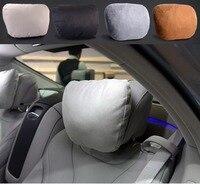 2Pcs Universal Use Maybach Design S Class Ultra Soft Natrual Car Headrest Neck Seat Cushion Pillow