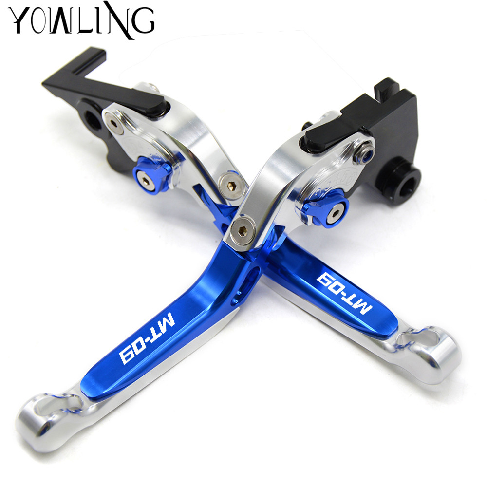 CNC Motorcycle Brakes Clutch Levers For YAMAHA MT 09 MT09 MT 09 Tracer 2014 2015 2016
