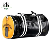 Brand Design PU Leather Men Women Travel Hand Shoulder Bags Carry On Luggage Bags Male Duffel