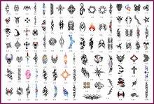 Template tattoo golden phoenix NO 08 airbrush tattoo stencils 100pcs Totem theme picture