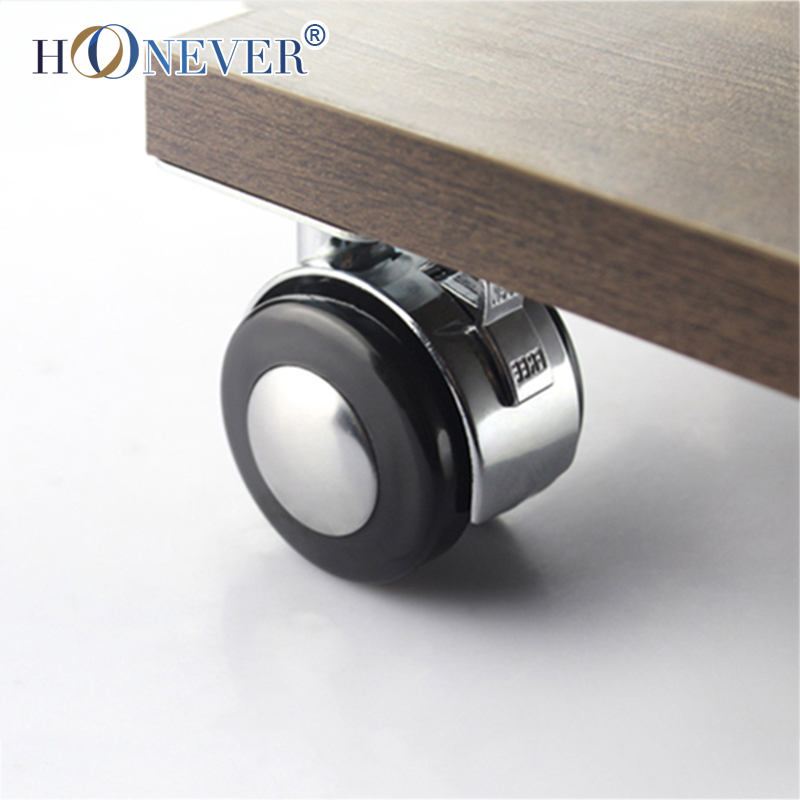 furniture wheels. aliexpress.com : buy 4pcs furniture caster alloy 1.5 universal wheel plate casters sofa end table with brake from wheels
