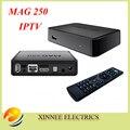 Mejor Linux mag250 IPTV caja, Set Top Box Wifi de la ayuda usb conector, Cable No incluye cuenta IPTV, mag 250 soporte de actualización