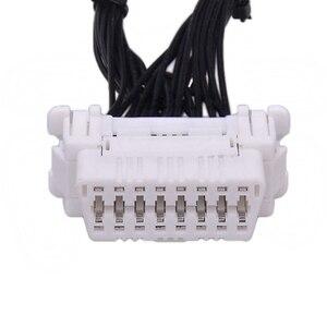 Image 4 - Качество новейший OBD 2 Y сплиттер Удлинительный кабель OBD2 16PIN папа к женскому ELM327 электронный разъем провода