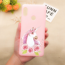 Pink Cute Unicorn Phone Case For iPhone X XR XS MAX Cases For iphone 8 7 6 Plus 5 SE Cartoon Soft Silicone Back Cover cute silicone stand audio amplifier for iphone 5 pink