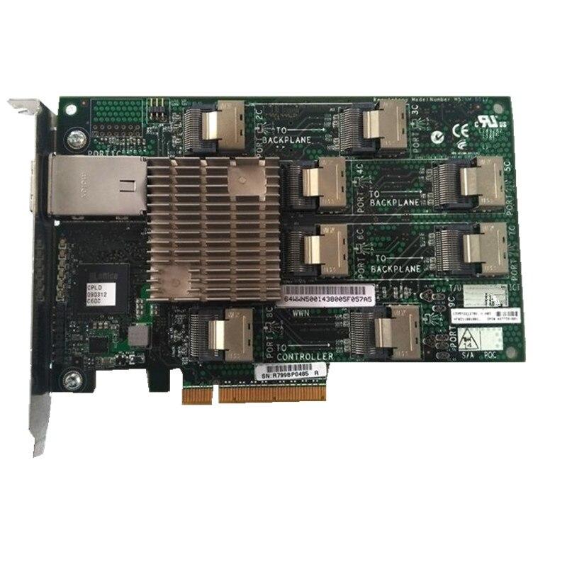 468406-B21 SAS expansion card 487738-001 468405-002 для DL380G6 G7 ML370G6 серверов SAS expansion карта с мини кабель SAS