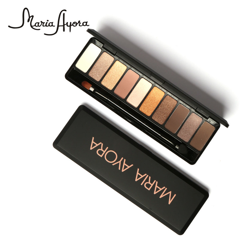Natural eye makeup palette