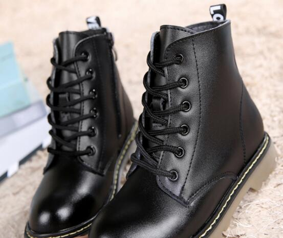 Top-Selling-Genuine-leather-Military-Motorcycle-boots-Children-shoes-Snow-Boots-Slip-resistant-Boys-Girls-Ankle-Martin-boots-03B-2