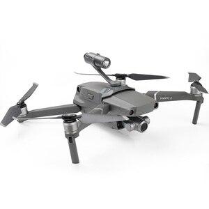 Image 2 - Drone allume la lumière de vol de nuit de projecteur étendue de dessus de corps pour le support de caméra de gopro pour le drone de DJI mavic 2 pro/zoom