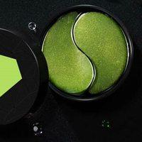 Green Eye Mask Stick Niacinamide to Lighten Dark Circles Eyes Eye Bags Firming Moisturizing Eye Patch