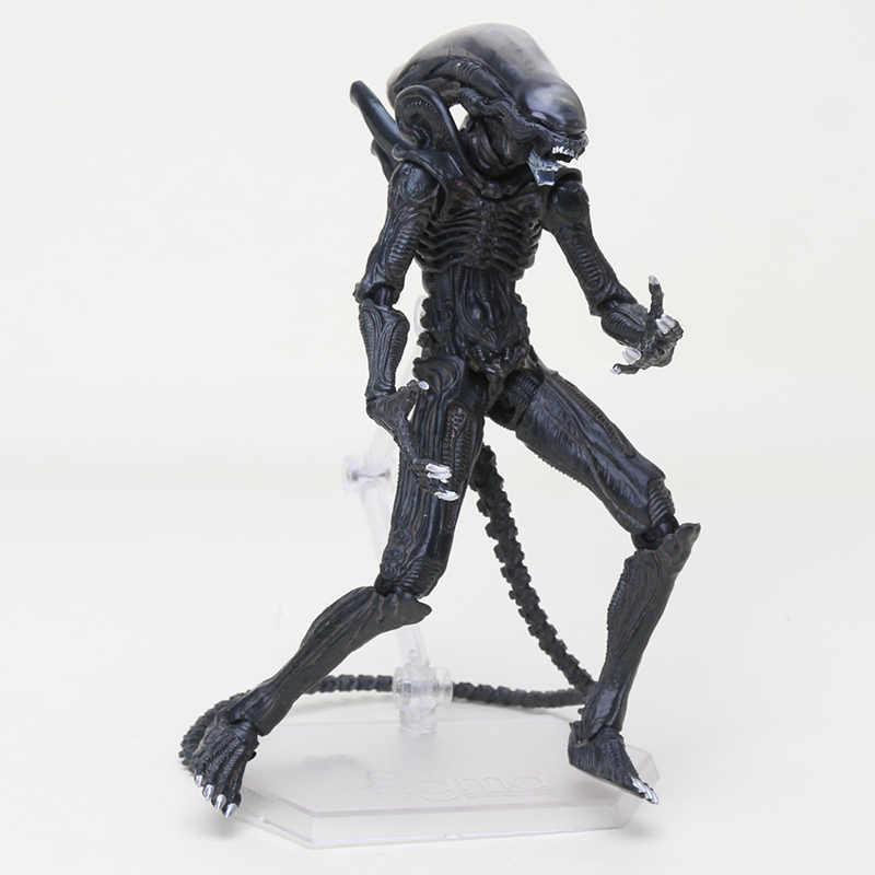 Film Alien Model Boneka FIGMA SP-108 10th Alien Takayuki Takeya Versi Vs Predator PVC Action Figure Collectible Hadiah Mainan