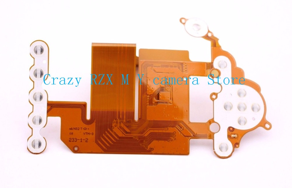 95% New Rear Back Cover Flex Cable Button FPC Plate Replacement For Nikon D3100 Camera Repair Parts