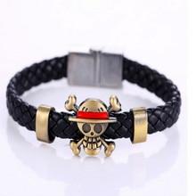 Leather Woven Magnetic Bracelet