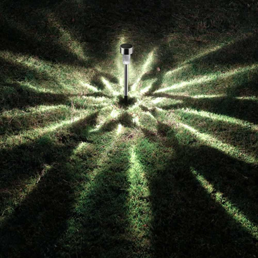 10pcs LED Solar Garden Light Stake Lawn Spot Lamp Yard Path Solar Lights Christmas Party Pathway Home Garden Outdoor Decoration