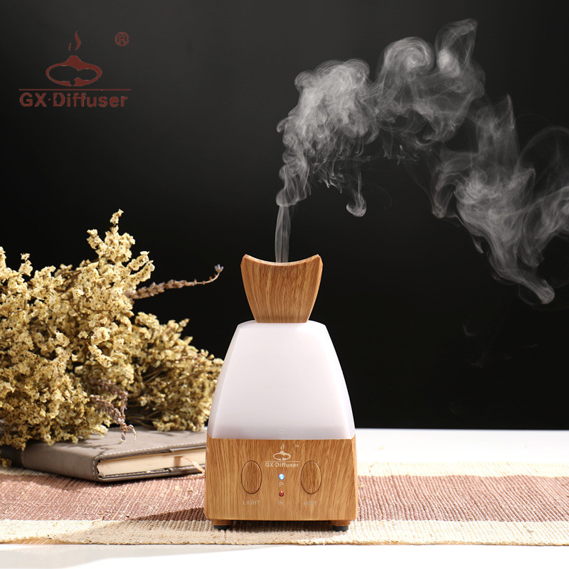 GX.Diffuser 7 LED Electric Perfume Ultrasonic Aroma Diffuser Air Humidifier Aromatherapy Diffuser Essential Oil Aroma Diffuser