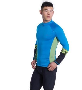 Women Men Long Sleeve Surf Diving Tops Sunscreen Rashguards Swim Shirts+Pants Bathing Beach Quick-drying Wetsuits Plus Size