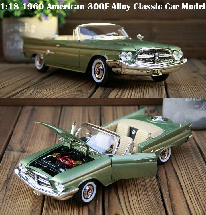Boutique  1:18 1960 300F Model of American Alloy Classic Car  Collection modelBoutique  1:18 1960 300F Model of American Alloy Classic Car  Collection model