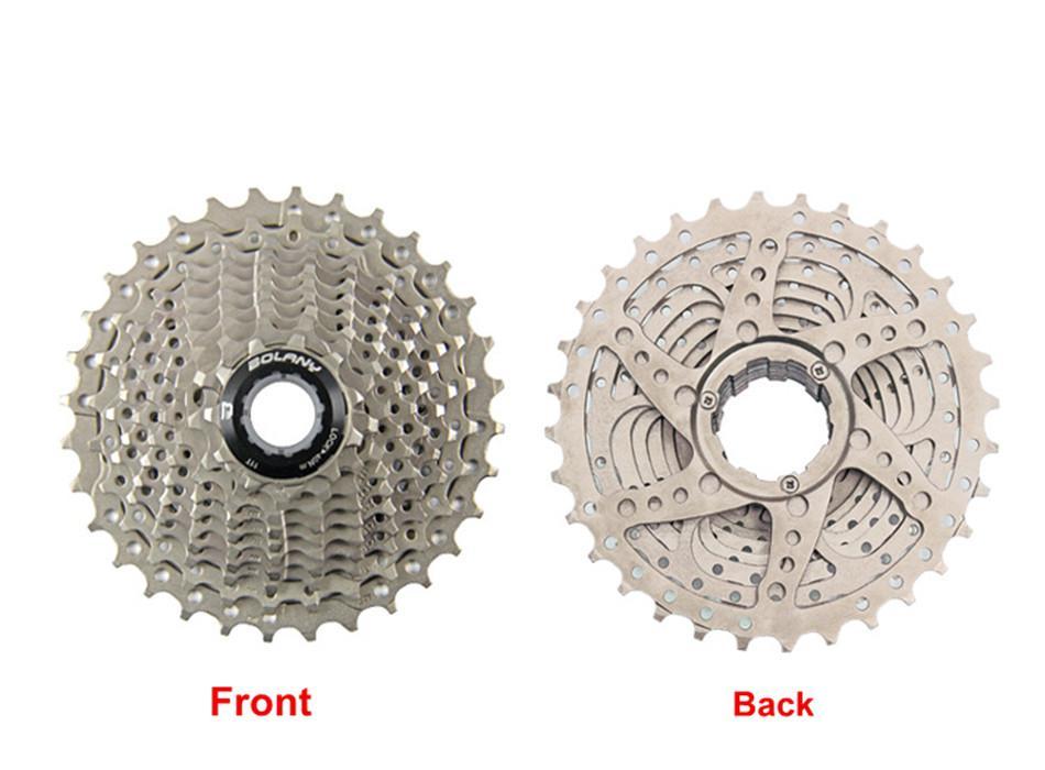 Купить с кэшбэком Freewheel 10 Speed Road Cassette 11-32T Teeth Gear Bicycle Flywheel