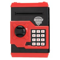 Safety Mini Money Cash Saving Coin Box Security Safes Piggy Bank Password Lock Kids Children Toys