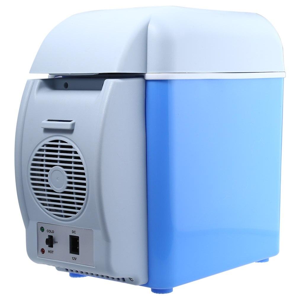 New 12V 7.5L Capacity Portable Car Refrigerator Cooler Warmer Truck Electric Fridge for Travel RV Boat